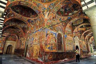 ブルガリアリラの僧院